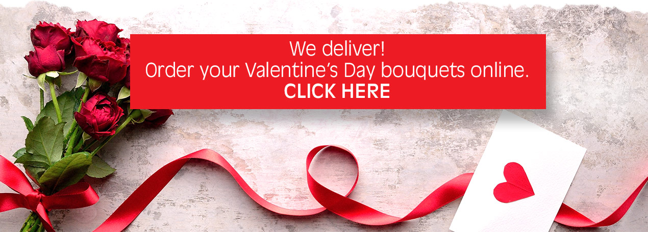 Order your Valentine's Day bouquets online